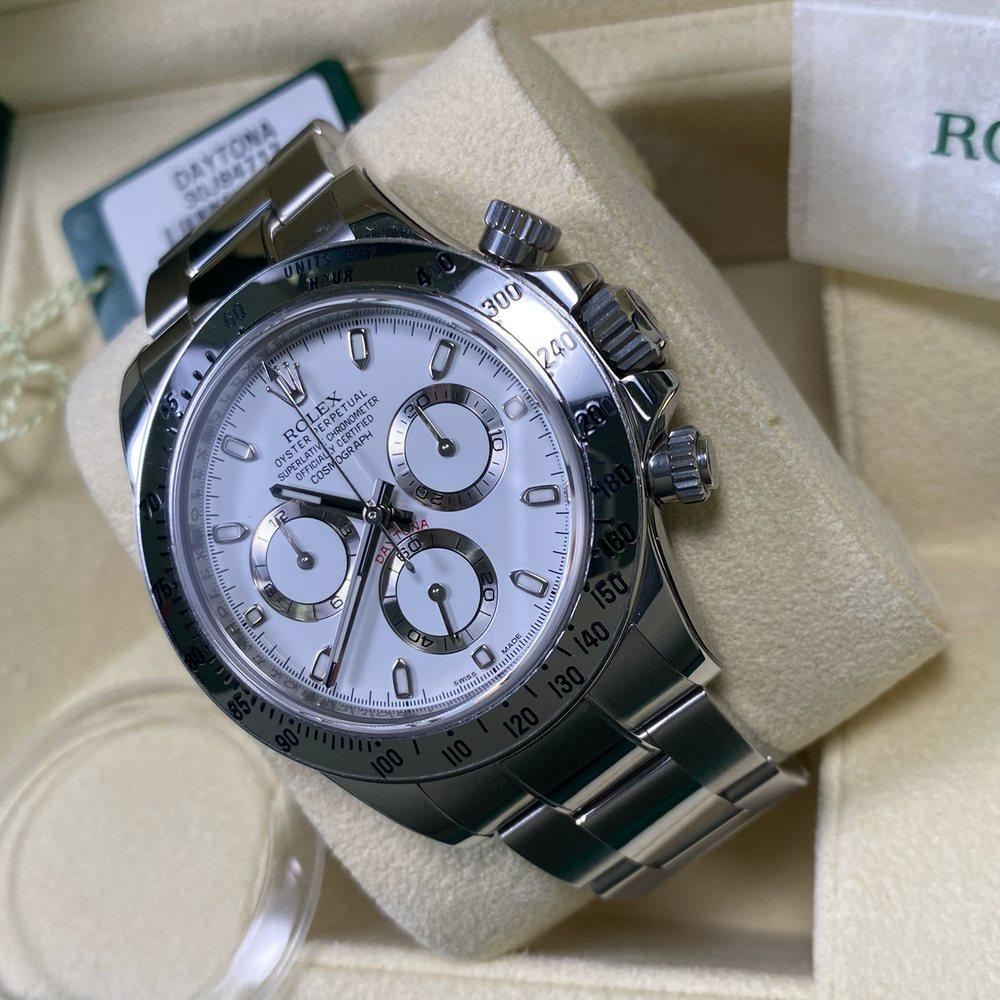 Rolex Daytona 116520 - White APH Dial •UNWORN• 2015 - Swiss Watch Trader