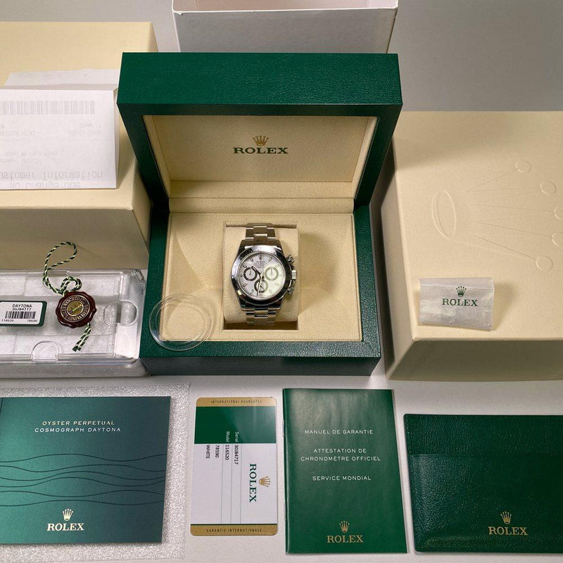 Rolex Daytona 116520 - White APH Dial •UNWORN• 2014 - Swiss Watch Trader