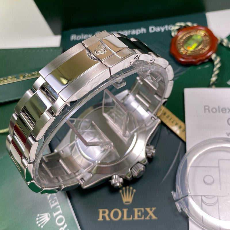 Rolex Daytona 116520 •WHITE DIAL• (2008 - V Serial) - Swiss Watch Trader