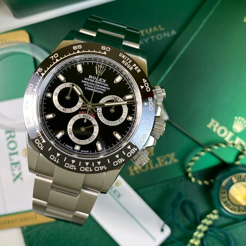 Rolex Daytona Cosmograph 116500LN (Black-2018) - Swiss Watch Trader