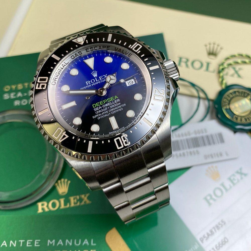 Rolex Deepsea 116660 D-Blue Cameron (2017) - Swiss Watch Trader