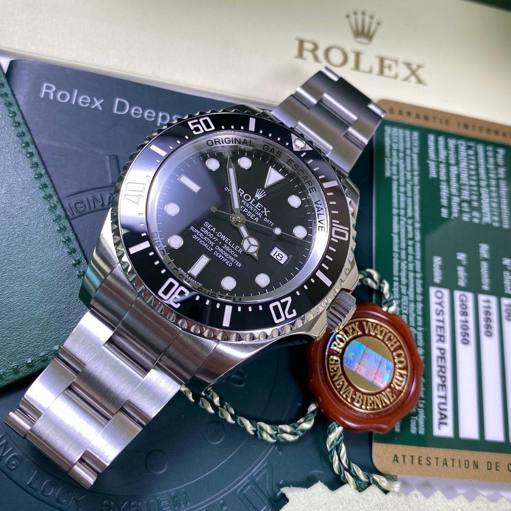 Rolex Deepsea 116660 DSSD (2013 - G Serial) - Swiss Watch Trader