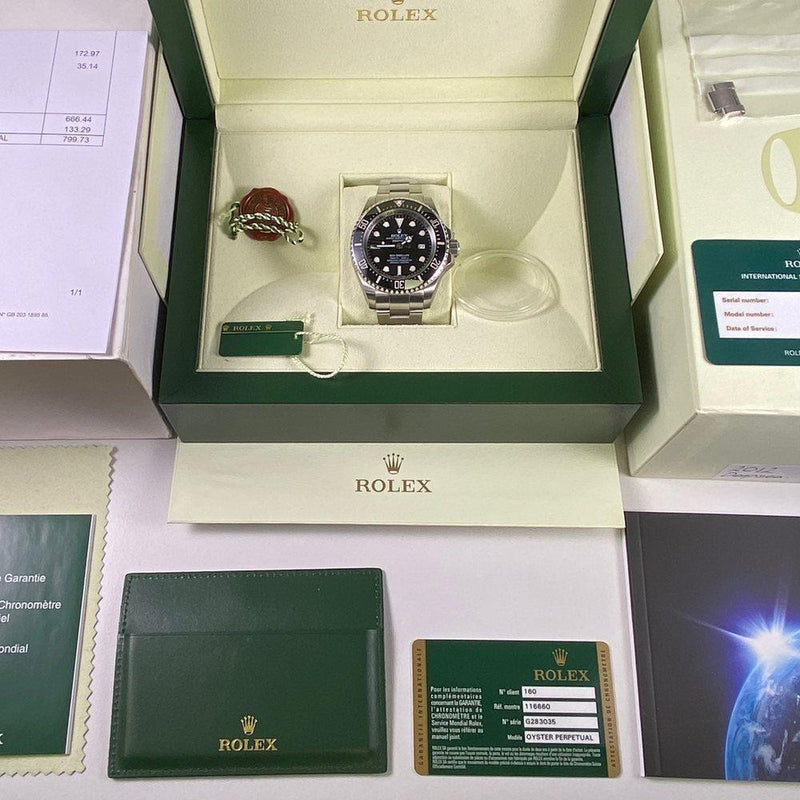 Rolex Deepsea Sea Dweller 116660 (2012) - Swiss Watch Trader