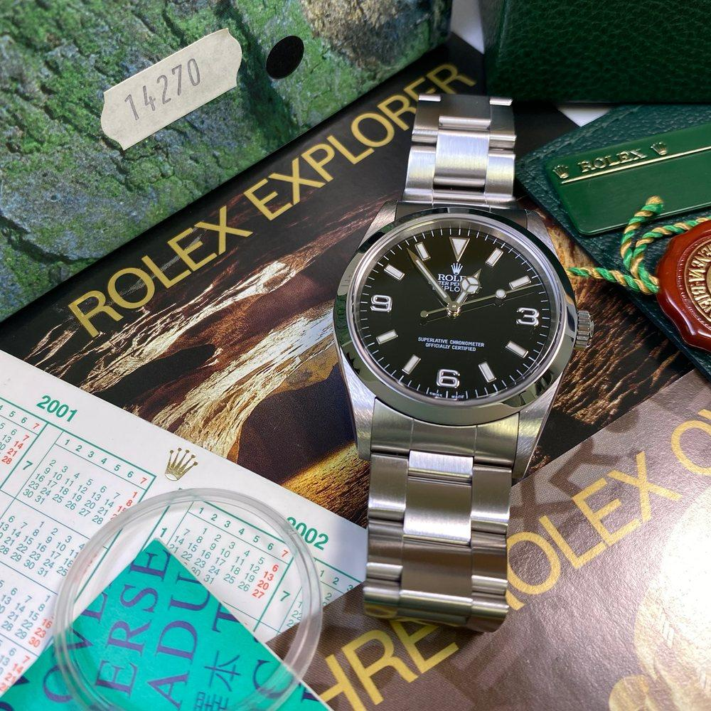 Rolex Explorer 14270 36mm (2001 - P Serial) - Swiss Watch Trader