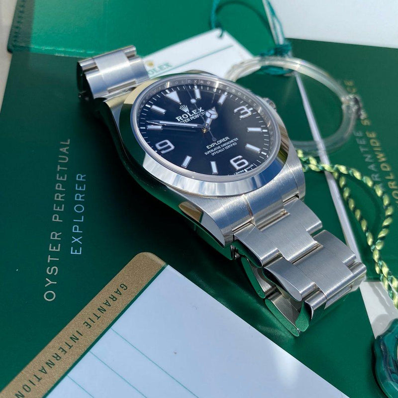 Rolex Explorer 214270 39mm (2018) - Swiss Watch Trader