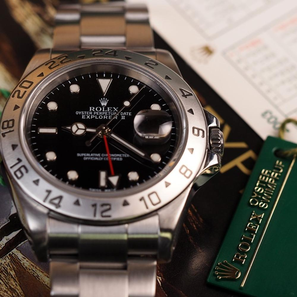 Rolex Explorer II 16570 (2003-Y) - Swiss Watch Trader