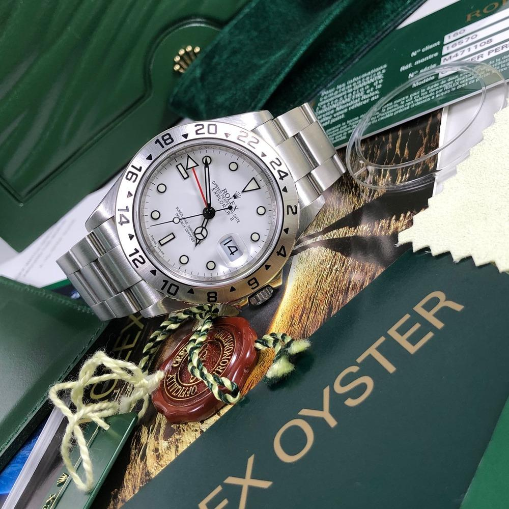 Rolex Explorer II 16570 (2009-M) - Swiss Watch Trader