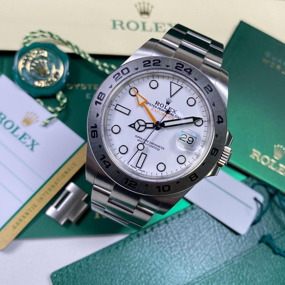 Rolex Explorer II 216570 (2019) - Swiss Watch Trader