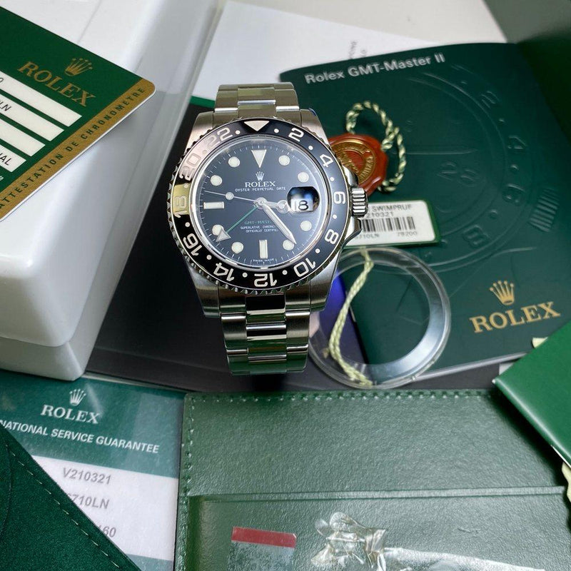 Rolex GMT Master II 116710 LN •SERVICED• (2009)