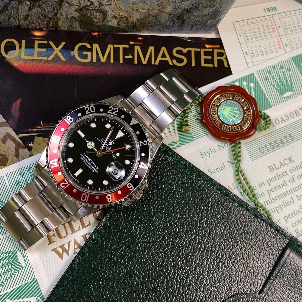 Rolex GMT Master II 16710 Coke (1998 - U Serial) - Swiss Watch Trader