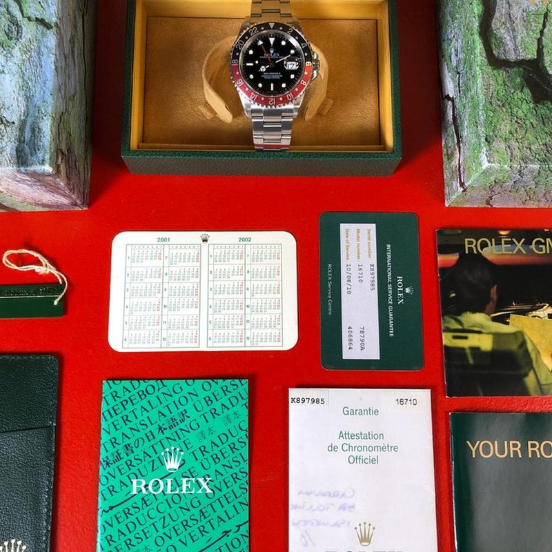 Rolex GMT Master II 16710 Coke (2003-K) - Swiss Watch Trader