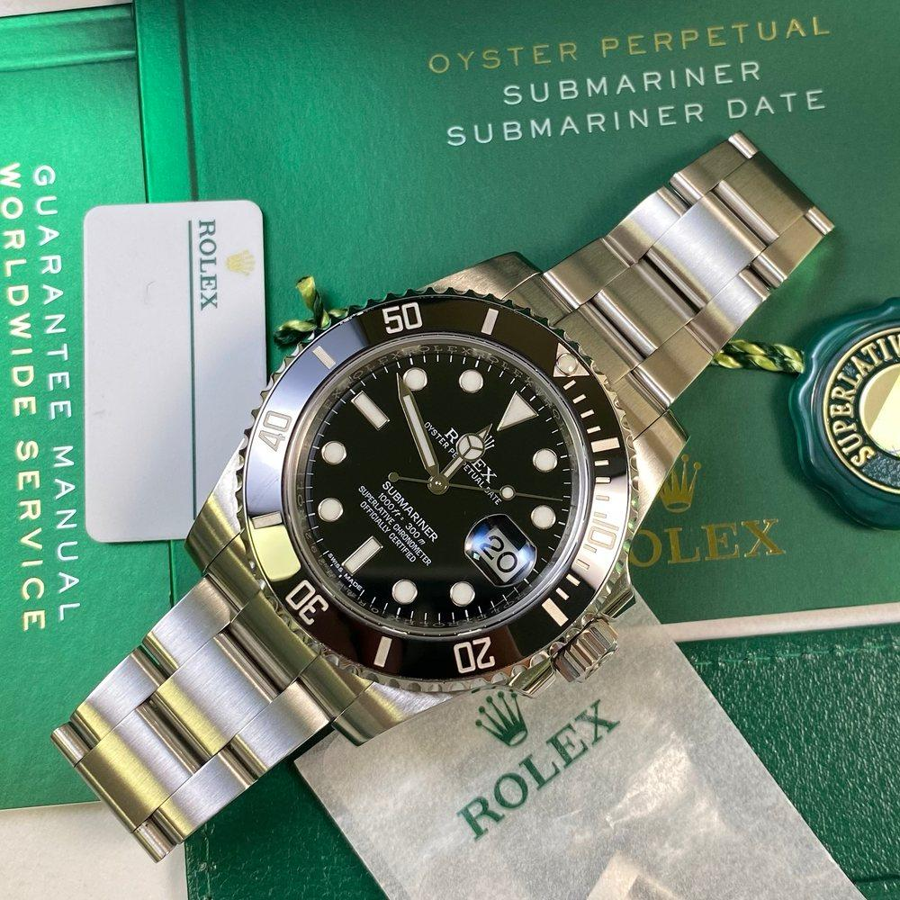 Rolex Submariner 116610LN Date (2016) - Swiss Watch Trader