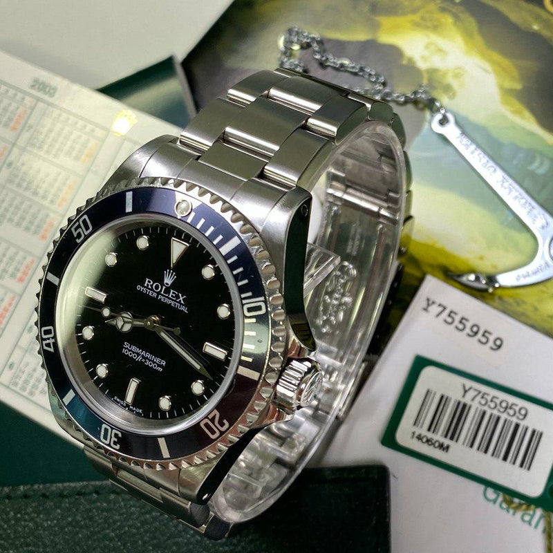 Rolex Submariner 14060M (2003 - Y Serial) - Swiss Watch Trader