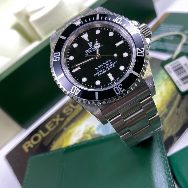 Rolex Submariner 14060M (2008-M Serial) - Swiss Watch Trader