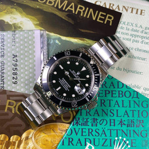 Rolex Submariner 16610 Date (2000 - A Serial) - Swiss Watch Trader
