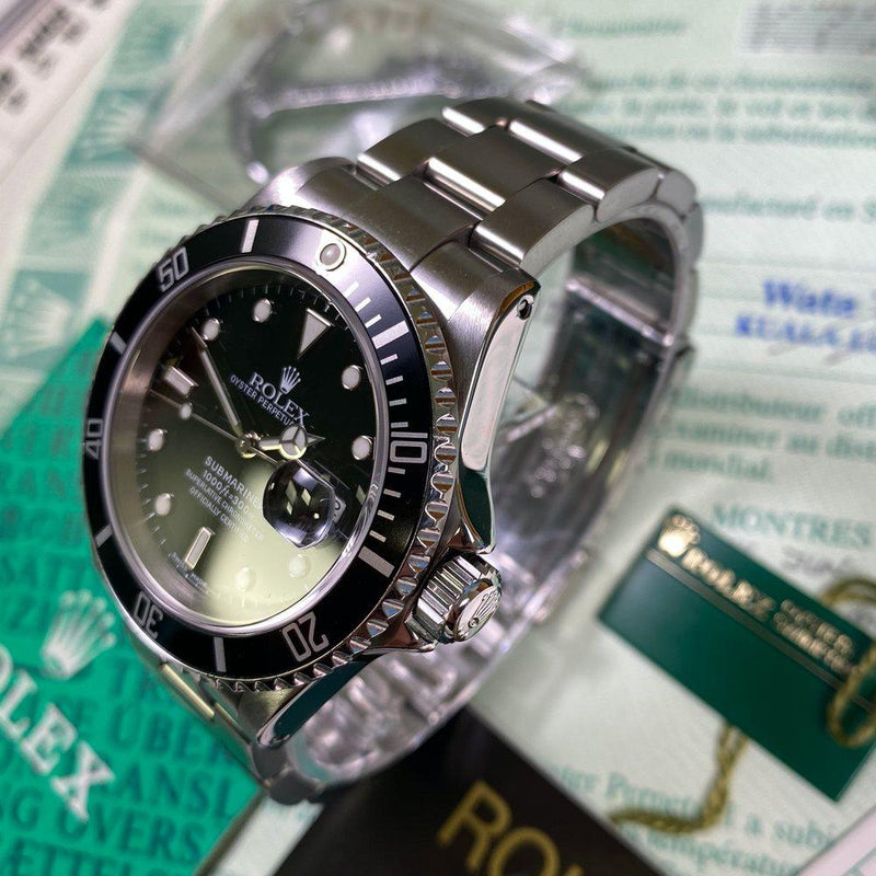 Rolex Submariner 16610 Date (2002 - K Serial) - Swiss Watch Trader