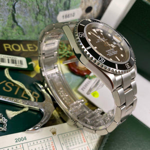 Rolex Submariner 16610 Date (2004 - F Serial) - Swiss Watch Trader