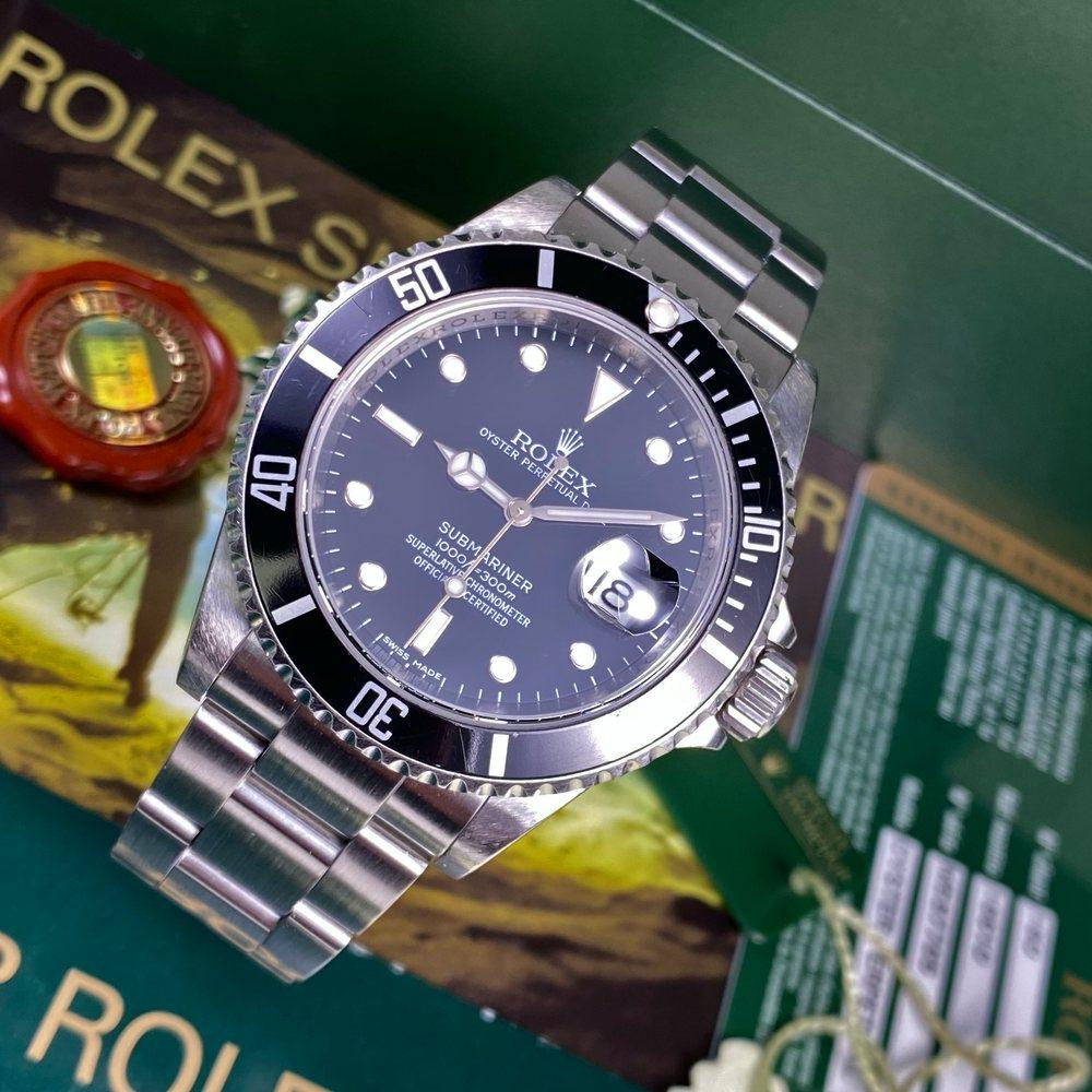 Rolex Submariner 16610 Date (2009-M) - Swiss Watch Trader