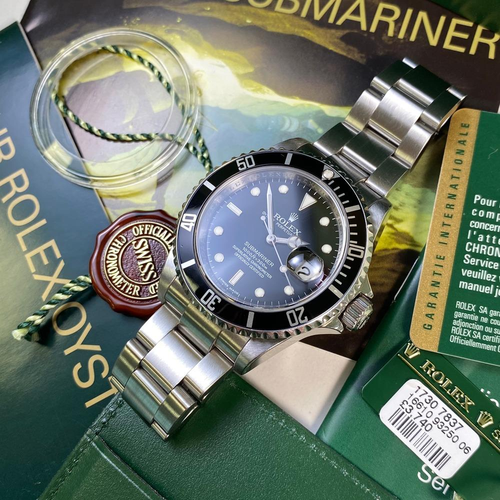 Rolex Submariner 16610 Date (2009 - M Serial) - Swiss Watch Trader