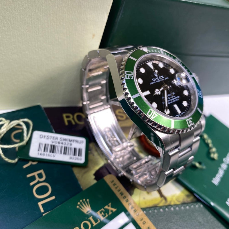 Rolex Submariner 16610LV Kermit (2009 - V Serial)