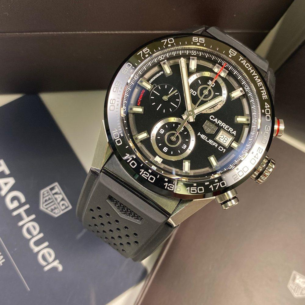 TAG Heuer Carrera Calibre Heuer 01 - Swiss Watch Trader