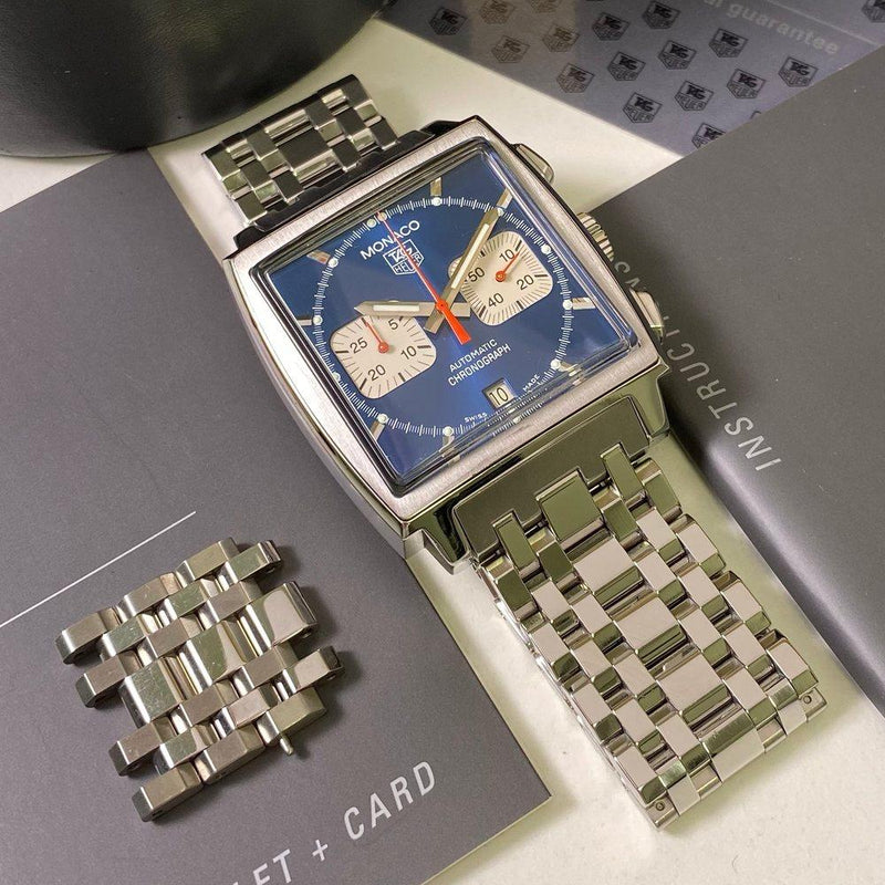 Tag Heuer Monaco CW2113 Calibre 17 - Swiss Watch Trader