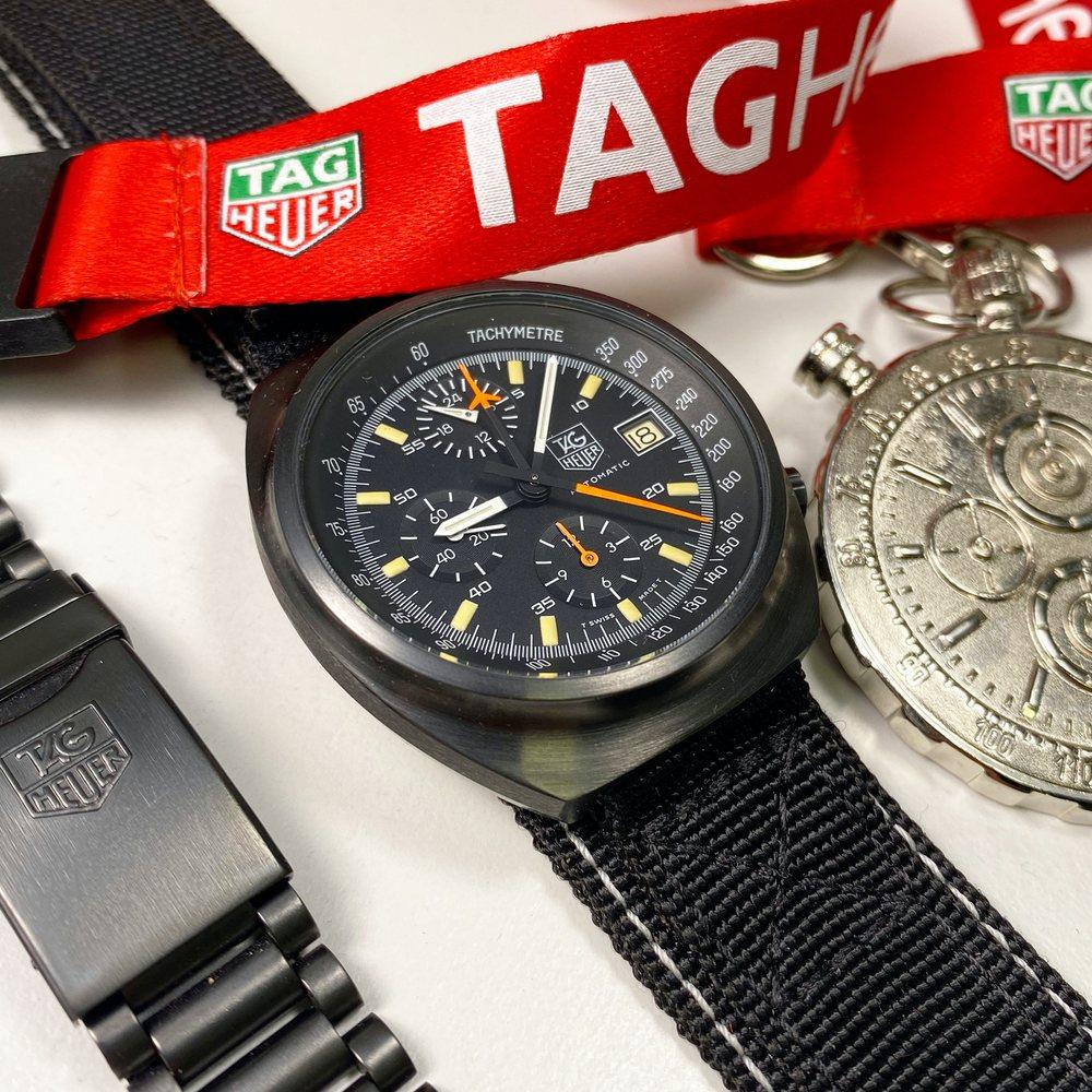 TAG Heuer Pilot Chronograph 510.501 - Swiss Watch Trader