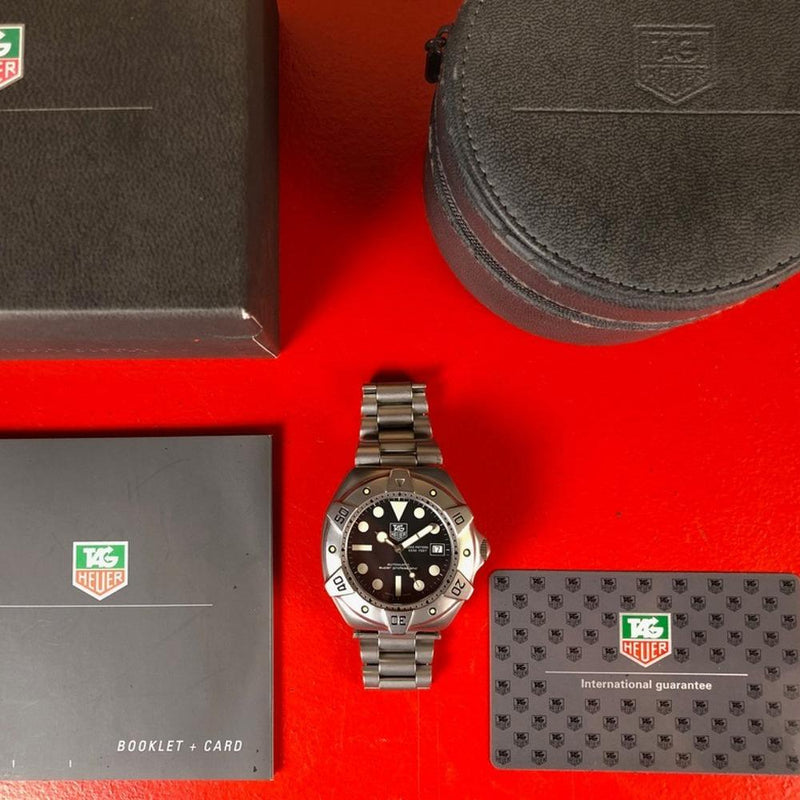 TAG Heuer Super Professional WS2110 - Swiss Watch Trader