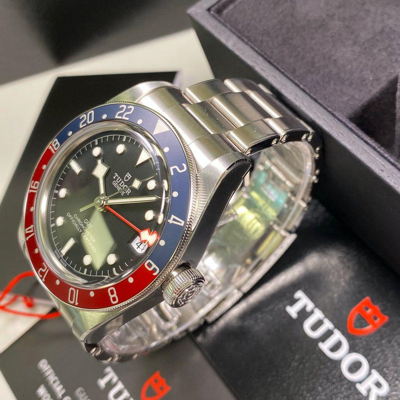 Tudor Heritage Black Bay GMT 79830RB - Swiss Watch Trader