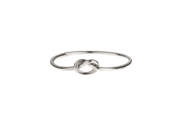Love me Knot ring Silver