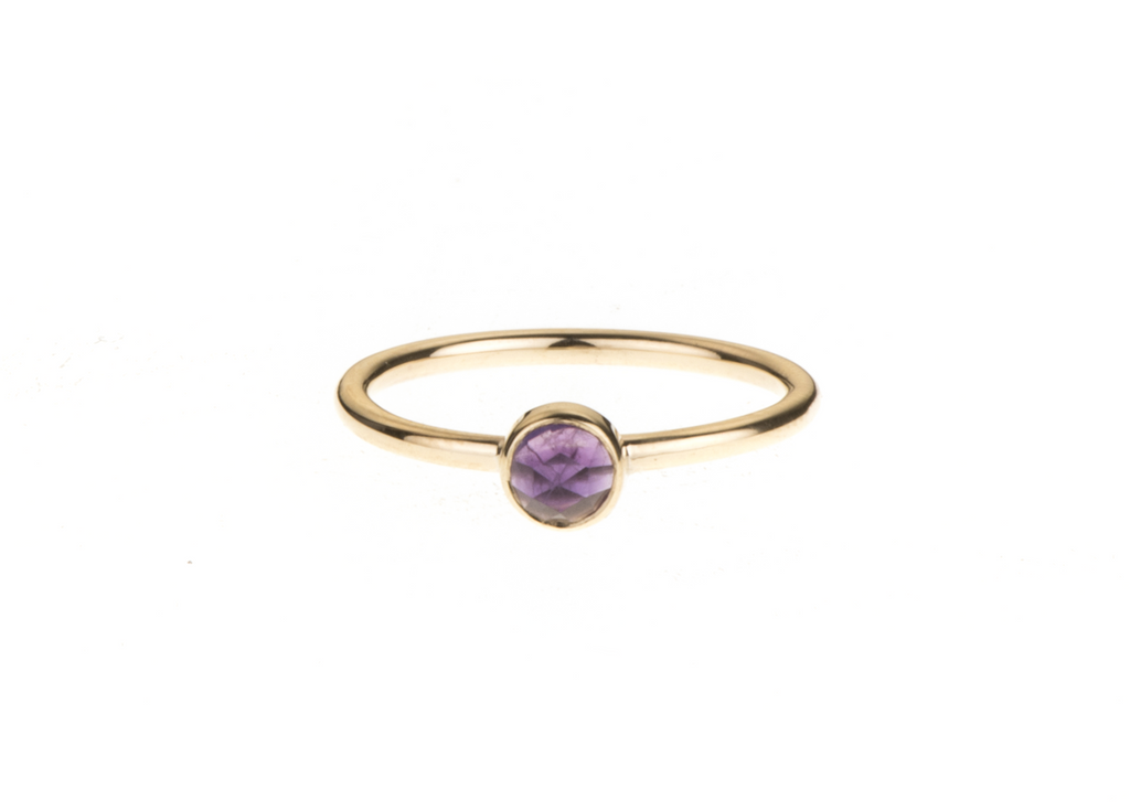 Amethyst Mini Gem Stacker