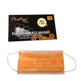 50pcs Prestige Line 3-ply Surgical Face Mask Orange
