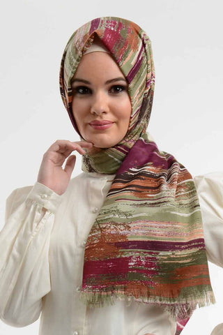 Code 802: Abstract Shawl