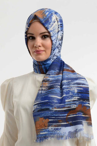 Code 803: Abstract Shawl