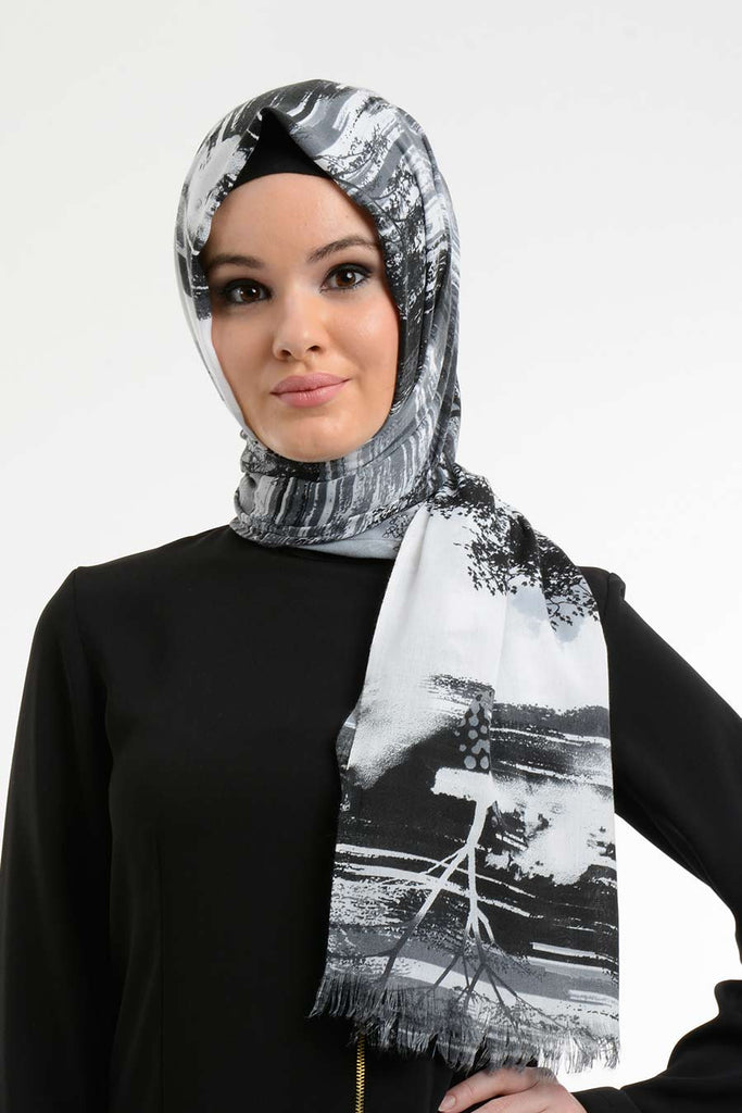 Code 805: Abstract Shawl