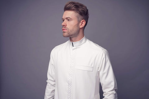 Al-Ameer Thobe: AA18066 (IN WHITE)
