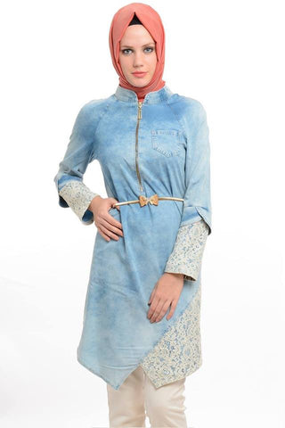 Denim Tunic (nursing friendly)