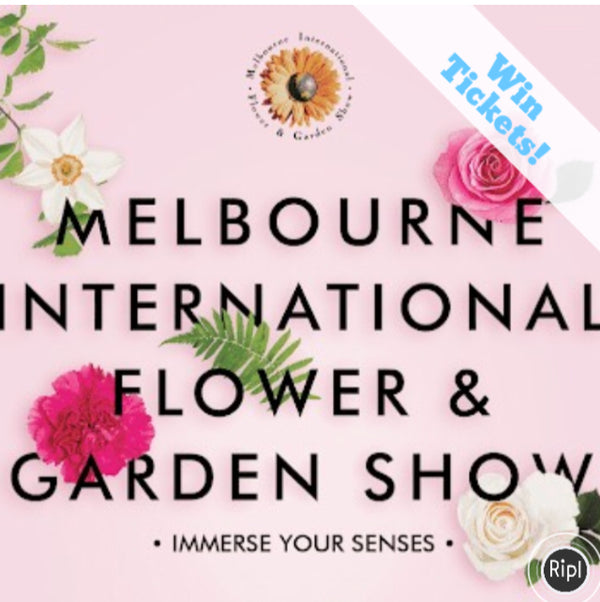 WIN TICKETS TO THE 2018 MELBOURNE INTERNATIONAL FLOWER & GARDEN SHOW , MARCH 21st - 25th