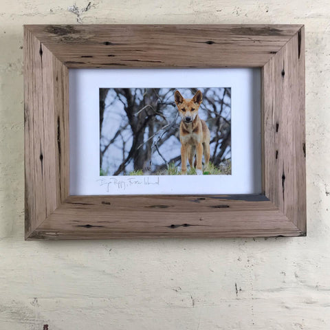 CHUNKY NATURAL FRAME MADE FROM MOUNTAIN ASH RECYCLED AUSTRALIAN HARDWOOD