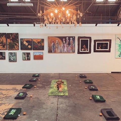 Yoga and Art Exhibition