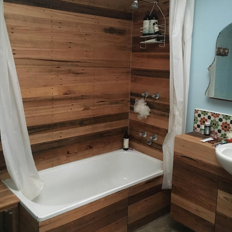 Lining Boards - Bathroom - Recycled Timber