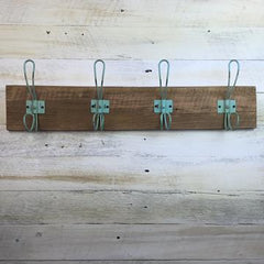 TIMBER COATRACK RUSTIC