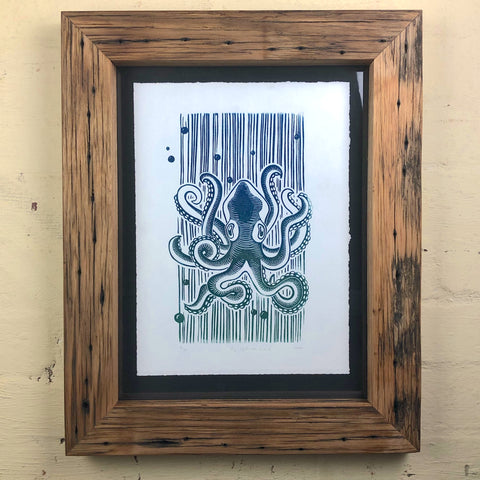 Chunky Oiled Custom picture frame. Where can I buy Driftwood frames in Australia?