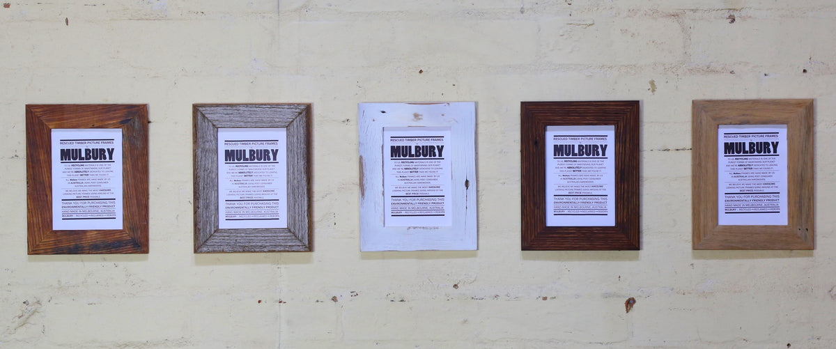 RUSTIC TIMBER PHOTO FRAMES