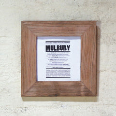 Recycled Oak coloured pic turn frames Australia. 5 x 5, 6 x 6 picture frames