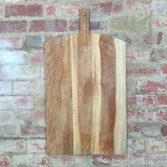 Recycled timber large chopping board