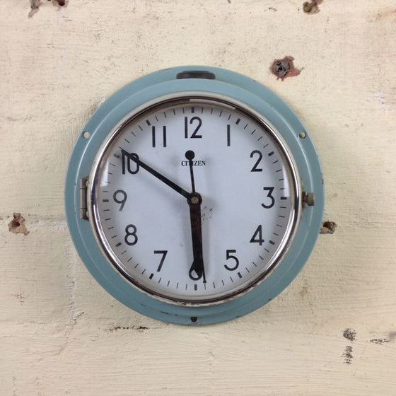 Vintage marine clocks from Mulbury