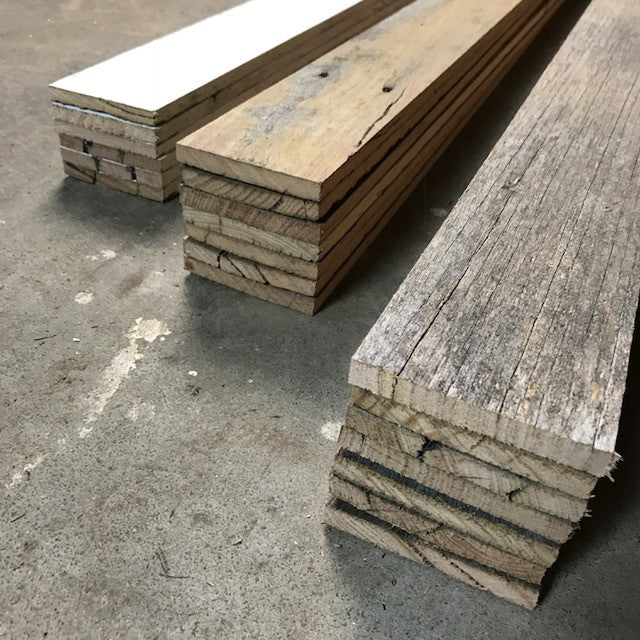 Lining boards available in 3 styles