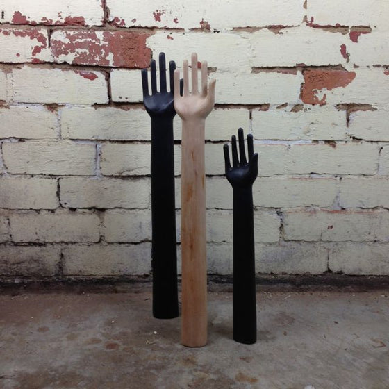 Wooden Display Hands