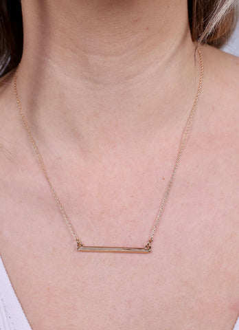 McCalister Bar Necklace